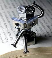読書するボルタ