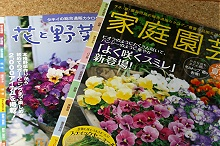 「家庭園芸」と「花と野菜ガイド」 2007年夏秋号