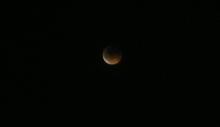静岡の皆既月食