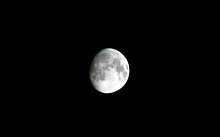 十三夜の月