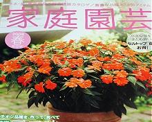「家庭園芸」2008年春号