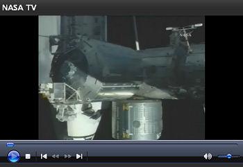 スペースシャトル・エンデバーと国際宇宙ステーション(ISS)