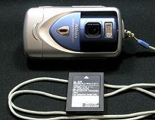 Nikon COOLPIX 2500 と Li-ionリチャージャブルバッテリー EN-EL2