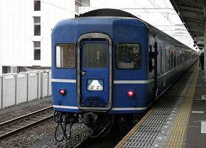 静岡駅に停車中の寝台特急 富士・はやぶさ
