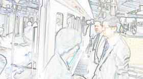 JR静岡駅2番ホーム 2009.05.27 06:54