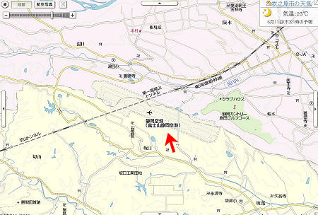 YAHOO! JAPAN  地図