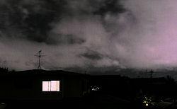 静岡市葵区の空 2009.07.07 20:22