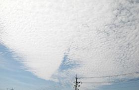 静岡市葵区の空 2009.08.28