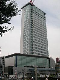 JR 静岡駅北口前の再開発ビル「葵タワー」
