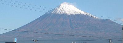 富士山 富士市 2009.10.27 07:52