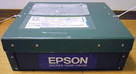 エプソンダイレクトの修理品輸送用の箱