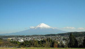 富士山(静岡県芝川町下柚野)