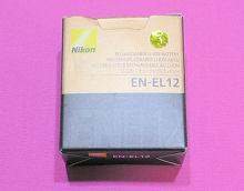 Nikon COOLPIX S640 用バッテリー EN-EL12 のパッケージ