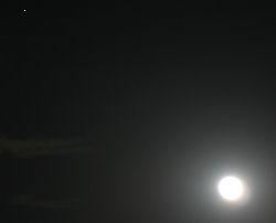 火星と月 2010.01.30 18:31 静岡市葵区