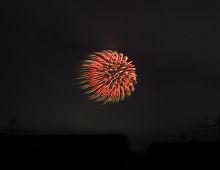 清水山公園の花火