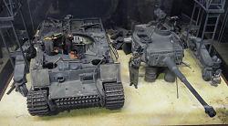 VI号戦車(タイガーⅠ)のジオラマ/(株)タミヤ