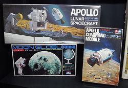 アポロのプラスチックモデルのパッケージ