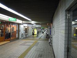 30年前にガス爆発事故があった地下街付近(2010.08.16)