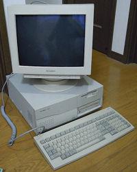 PC-9821 Xa7 と RD15D