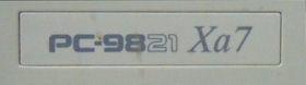 PC9821 Xa7 のロゴ