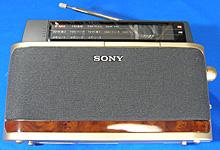SONY FM/AM PLLシンセサイザーラジオ ICF-A101