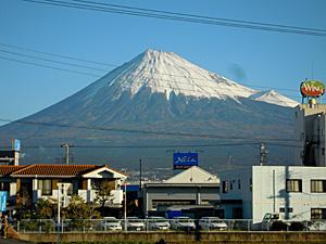 COOLPIX S640で撮影した富士山