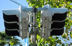 従来型の信号機