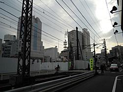 更地になった新静岡センター跡地 2010.04.07