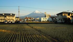 富士山 2011.01.04 07:50 富士市<br />