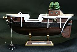 ゴーイング・メリー号の船体