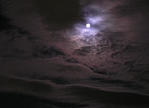 満月 静岡市 2011.02.18 19:36