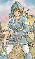 ナウシカ:風の谷のナウシカ (1)(ANIMAGE COMICSワイド判)/宮崎 駿 付属のポスターから画像引用<br />