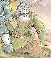 ミト:風の谷のナウシカ (1)(ANIMAGE COMICSワイド判)/宮崎 駿 付属のポスターから画像引用