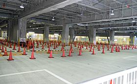 静岡セノバ 1階 バスターミナル