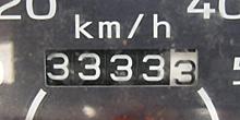 原動機付自転車の距離計 2011.10.18