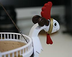 ゴーイング・メリー号 フライングモデルのフィギュアヘッド