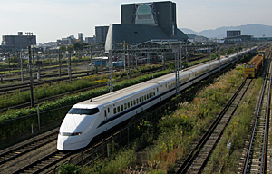 JR東海 300系東海道新幹線 東静岡駅付近