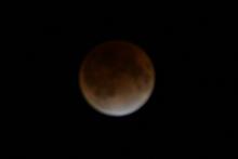 2011.12.10 23:28 静岡市葵区 皆既月食