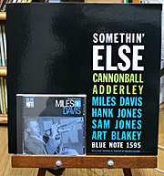 BLUE NOTE best jazz collection 第1号 マイルス・デイビスのCDとSomethin' ElesのLP