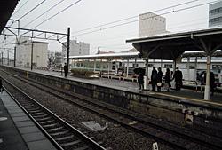 2012.01.17 07:36 JR掛川駅