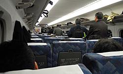東海道新幹線 こだま 677号 新横浜〜小田原 2012.09.19