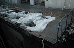車窓から 2012.01.31 07:37 JR掛川駅