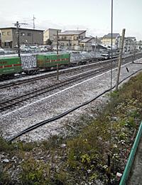 JR磐田駅西側 2012.02.02 07:58