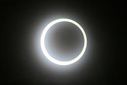 金環日食 2012.05.21 7:30 静岡市葵区