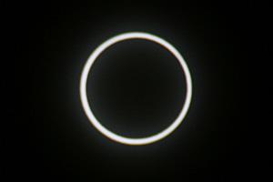 金環日食  2012.05.21 7:32 静岡市葵区