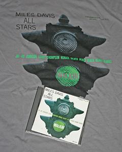 マイルス・デイビス・オール・スターズのウォーキンのTシャツとCD