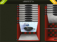 VenylLoveのアルバム選択画面