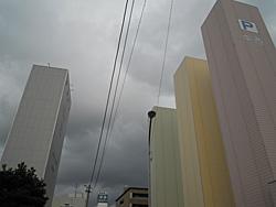 JR静岡駅南口の空 2012.08.13 18:21
