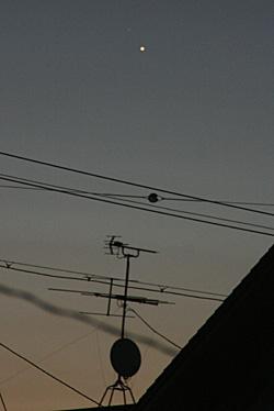 水星 2012.08.20 04:23 静岡市葵区 東の空