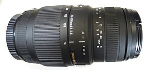 SIGMA 70-300mm F4-5.6 DG MACRO 70mm
